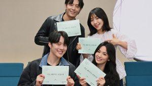 Pemeran SBS Now, We Are Breaking Up berkumpul untuk pembacaan naskah pertama